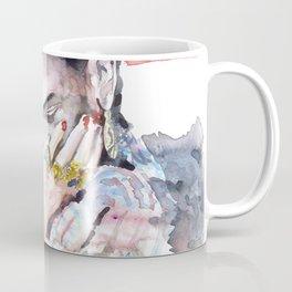 Frida Kahlo watercolor portrait Coffee Mug