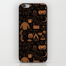Autumn Nights: Halloween iPhone Skin