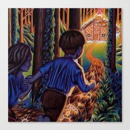 Hansel and Grethel/Hansel and Gretel Canvas Print