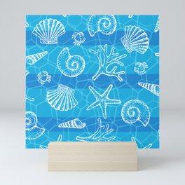 Crystal Blue Sea Mini Art Print