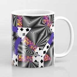 Mashed-up Print Coffee Mug