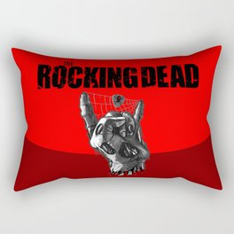 Zombie Horns TV parody edition - Red Rectangular Pillow