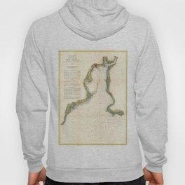 Vintage Map of New Haven Harbor (1872) Hoody