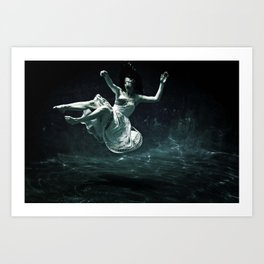 abyss of the disheartened : III Art Print