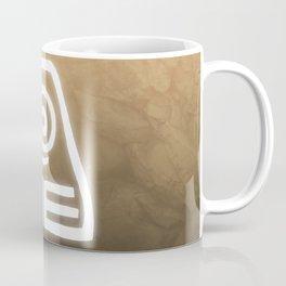 Avatar Earth Bending Element Symbol Coffee Mug