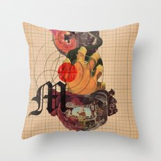 Murder Mind Throw Pillow