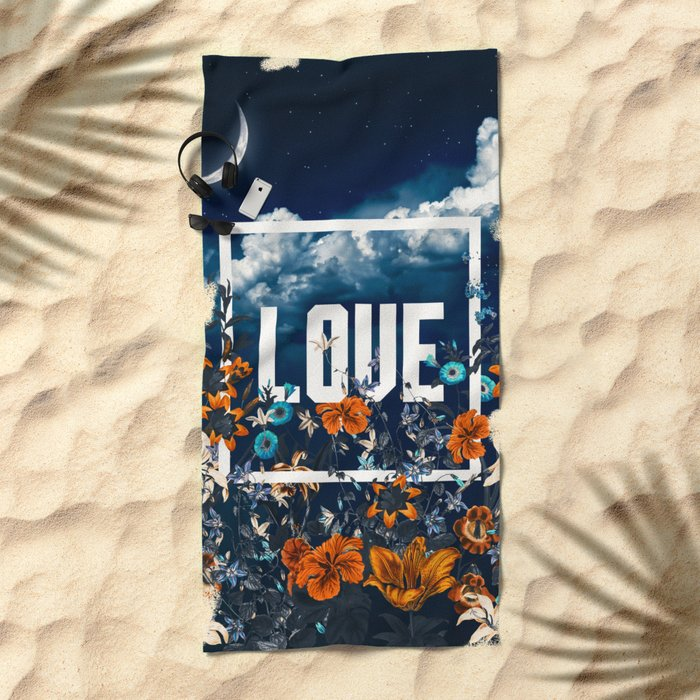 LOVE Beach Towel