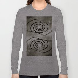 Shell Relaunch Patterned Long Sleeve T-shirt