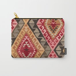 Sunset Kilim Carry-All Pouch