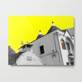 Alberobello trulli Metal Print