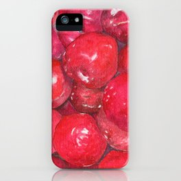 A basketful of plums iPhone Case