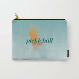Pickleball Bay Area California Carry-All Pouch