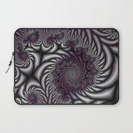 Purple and Gray Laptop Sleeve