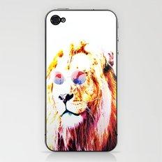 HIPPIE WILD LION iPhone & iPod Skin