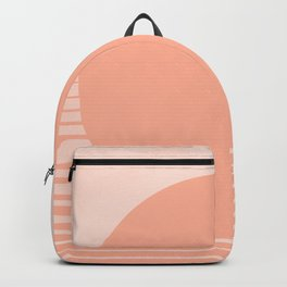 The Sweet Life Collection - Peach Coral Sun Gradient Backpack