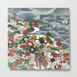 Japanese pattern 80 Metal Print