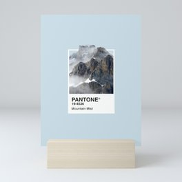 Pantone Series – Mountain Mist Mini Art Print