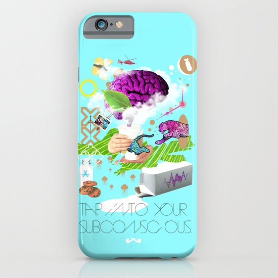Tap into your subconscious. iPhone & iPod Case