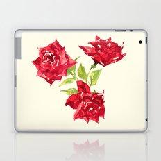 Three Red Roses Laptop & iPad Skin