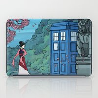 hallion iPad Cases featuring Cannot Hide Who I am Inside by Karen Hallion Illustrations