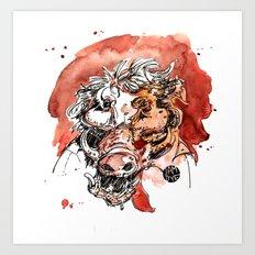 The Boar Art Print