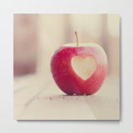 An apple a day... Metal Print