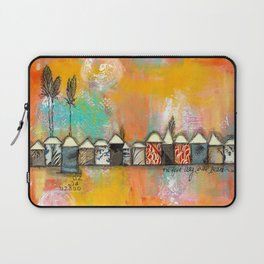 one fine day at the bach Laptop Sleeve