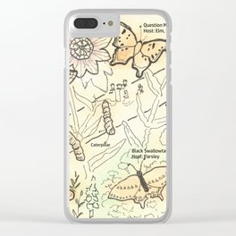 Urban Garden Clear iPhone Case