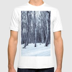 We Are The Trees Mens Fitted Tee MEDIUM White