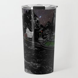 Moon Colony Travel Mug