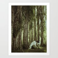 Andesluna Art Print