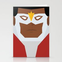 falcon Stationery Cards featuring Falcon by Shakeel