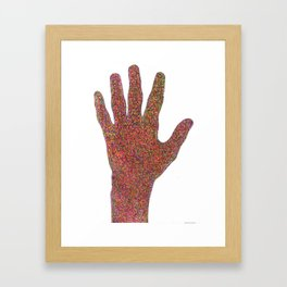 stop/hi Framed Art Print