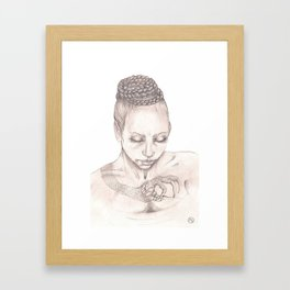 DragonLady Framed Art Print