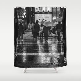 Gangnam #1 / Crossing Shower Curtain