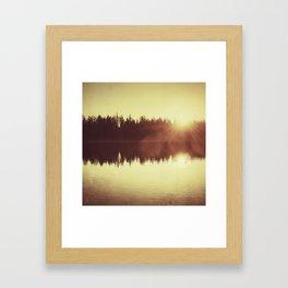 Evening Still Framed Art Print