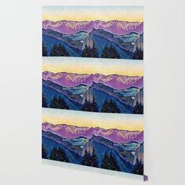 Koloman Moser - View of the Rax - Digital Remastered Edition Wallpaper