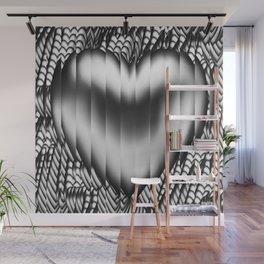 Broken heart Wall Mural