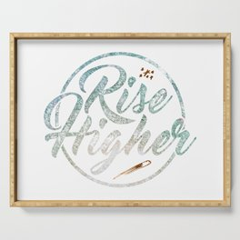 Rise Higher Shooting Star Serving Tray