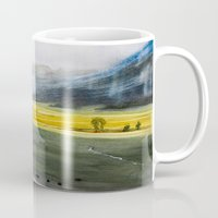 kendrick lamar Mugs featuring Lamar valley II by Christian Koivumaa