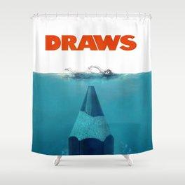 DRAWS Shower Curtain