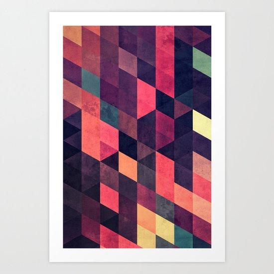 syngwwn syre Art Print
