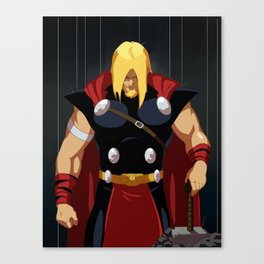 Thor by Mro16 Canvas Print