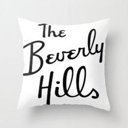 Beverly Hills Hotel  Throw Pillow
