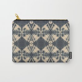 Circle Shibori Carry-All Pouch