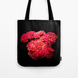 Think Flowers - Red Yarrow Tote Bag