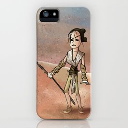 Sandstorm warrior iPhone Case