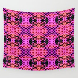 Pink Tribomb Wall Tapestry