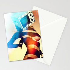 SEX ON TV - RETROSKOPIC by ZZGLAM Stationery Cards