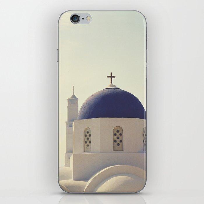 Greek Island Church  iPhone Skin